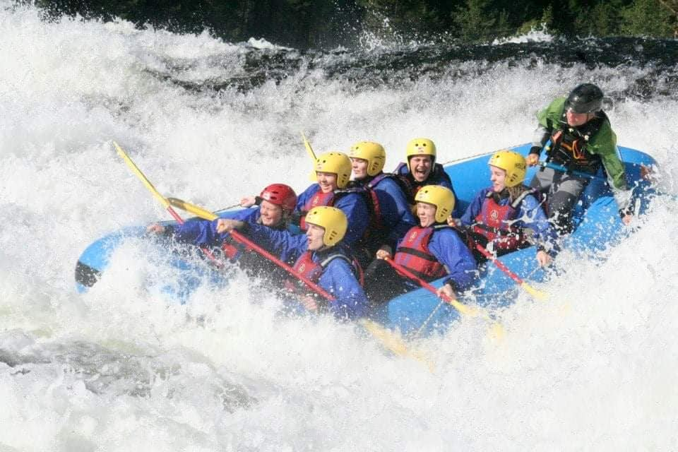 Rafting i Syrtveitfossen